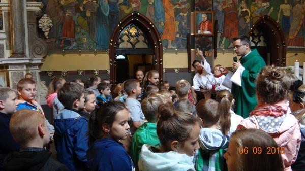 Poświęcenie Tornistrów 2015-09-06