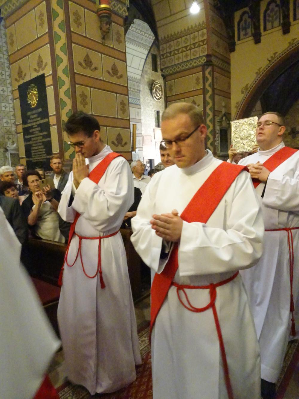Święcenia kapłańskiej ks. Wiktora Ignaczaka