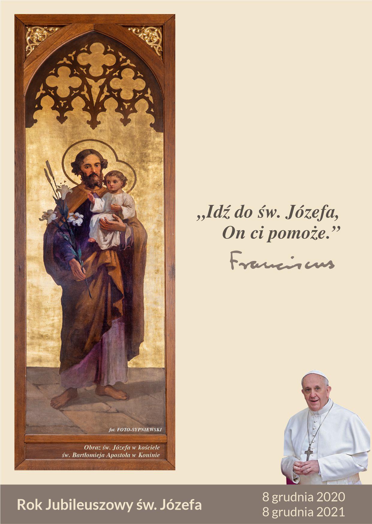 """""""Idź do św. Józefa, On ci pomoże"""""""