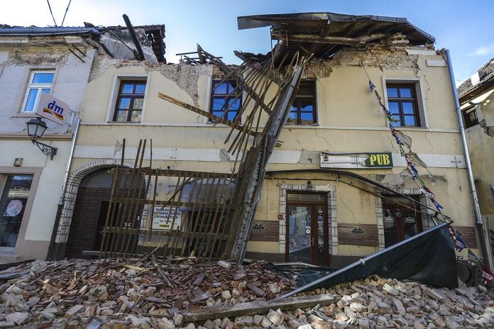 Trzęsienie ziemi w Chorwacji.
